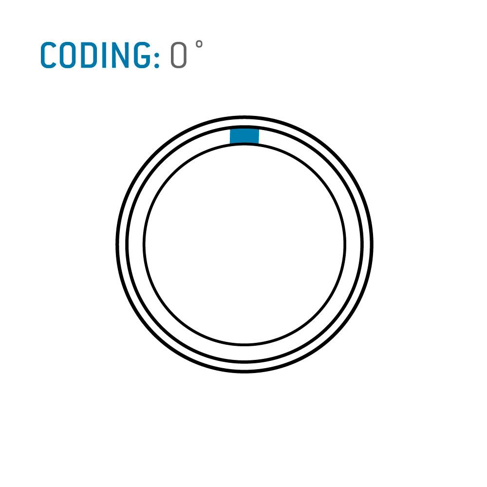 ODU MINI-SNAP® L Series Straight Plug, Size 0, IP 50 , 10